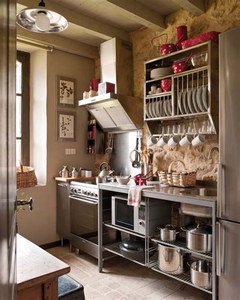 small rustic kitchen ideas 27 space saving design ideas for small kitchens