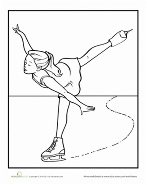 figure skater worksheet education com
