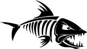 images fish skeleton clipart best
