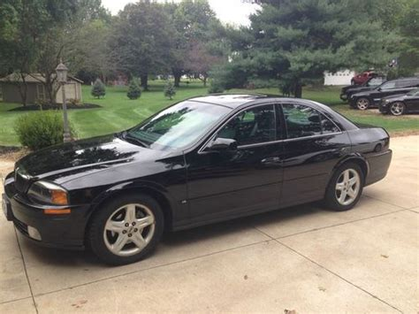 airbag deployment 2000 lincoln ls engine control buy used 2000 lincoln ls base sedan 4 door 3 9l with sport package alpine audiophile in