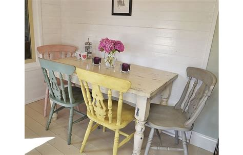 used shabby chic furniture shabby chic dining chairs used painted furniture