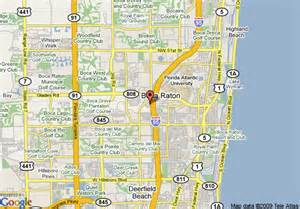map of boca raton florida map of marriott boca raton boca raton