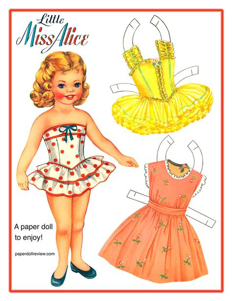 Paper Doll For - free paper doll from paperdoll review