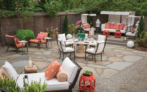 patio furniture layout outdoor living spaces ideas for an easy outdoor update