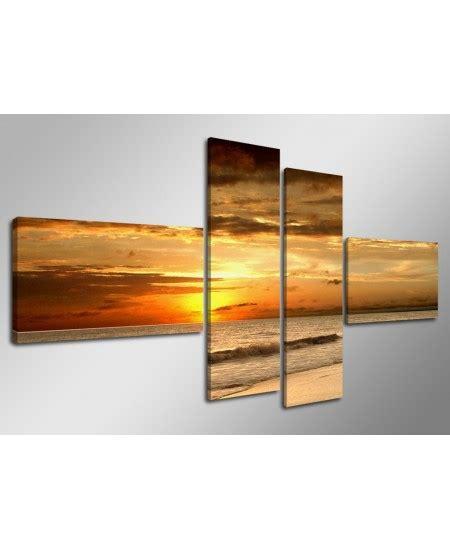 cuadros para el salon cuadros atardecer para el sal 243 n 70 x 160 cm cuadros