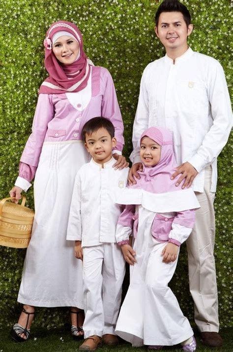 Baju Muslim Keluarga Modern Desain Baju Muslim Keluarga Seragam Modern Terbaru 2016