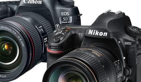 camara nikon o canon nikon d850 vs canon 5d mark iv comparativa