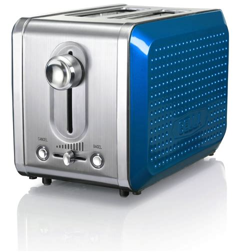 Teal Blue Toaster Dots Collection 2 Slice Toaster Teal Appliances