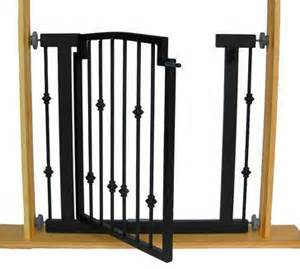 Decorative Dog Gates Emperor Rings Dog Gate Hallway Pressure Mount Metal