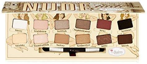 Eyeshadow The Balm Dude Palet The Balm Dude the balm cosmetics 12 color tude from ca
