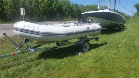 inflatable boats midland ontario zodiac yl340r 2000 used boat for sale in midland ontario