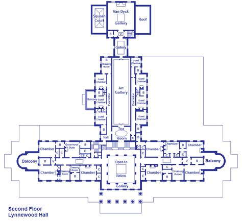 Lynnewood Hall Floor Plan | lynnewood hall second floor by viktorkrum77 on deviantart