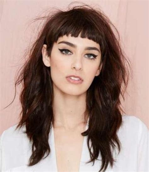 15 best collection of long hairstyles with short layers on top 15 collection of short fringe long hairstyles