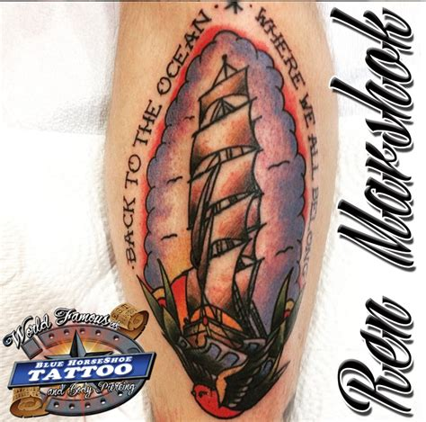 blue horseshoe tattoo virginia beach locations