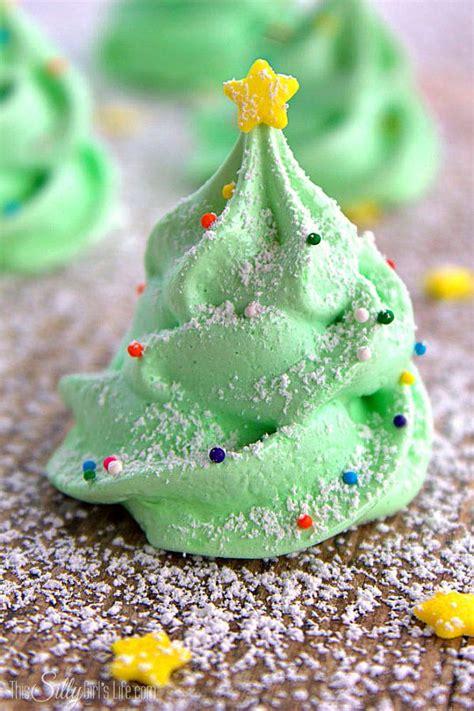 christmas tree meringue cookies fun and festive meringue