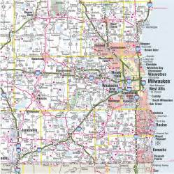 State Map Of Wisconsin by Themapstore Wisconsin State Highway Wall Map