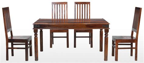 table with four chairs and bench jali sheesham 120 cm thakat dining table and 4 chairs