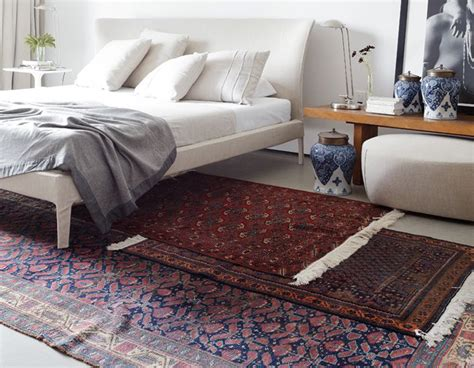Layering Area Rugs Styling Tips Layering Rugs 4 Ways Erika Brechtel