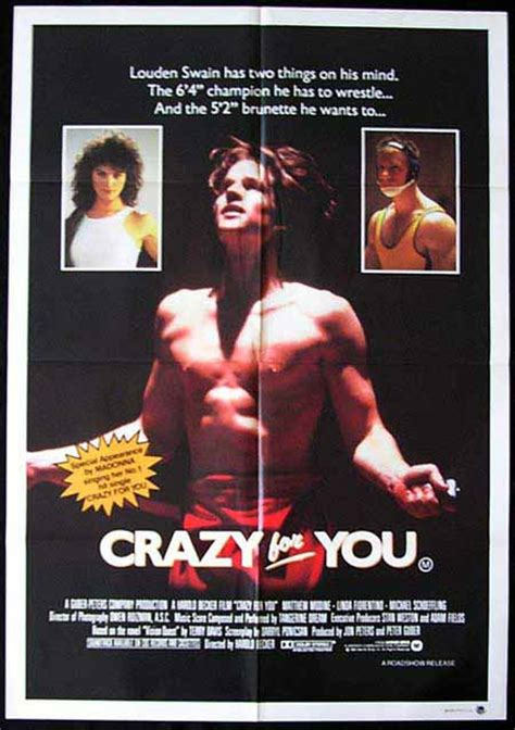 matthew modine madonna movie vision quest aka crazy for you 1985 madonna wrestling