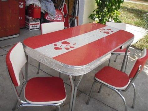 1950s formica kitchen table and chairs retro laminate table 1950s original formica dinette