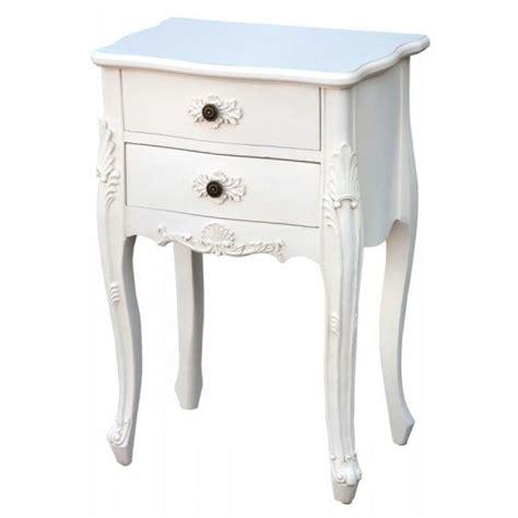 weisser nachttisch antique white bedside table oscar s boutique ltd
