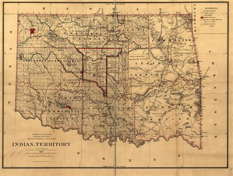 Unassigned Territory map of the indian territory