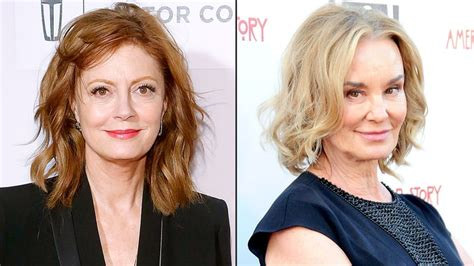 jessica lange and susan sarandon as joan crawford and susan sarandon jessica lange to star in ryan murphy s