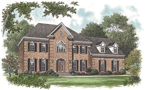 georgian home plans 3256 sq ft georgian house plan 180 1017 4 bedrm home theplancollection
