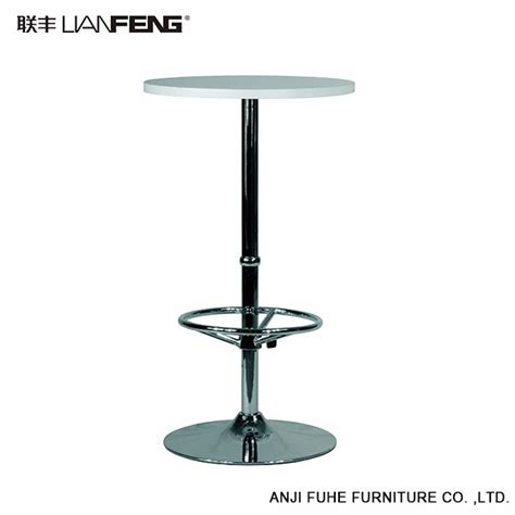 white bar height table height adjustable white bar table bar furniture