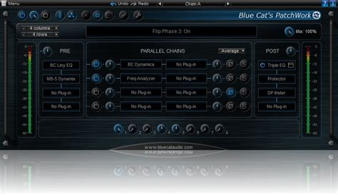 Blue Cat Audio Patchwork - blue cat audio s patchwork plugin updated to v1 63