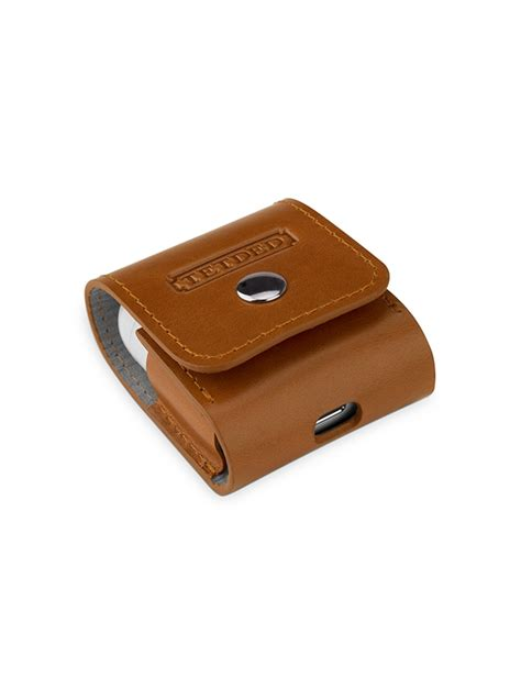 Airpods Premium Leather tetded premium leather for apple airpods pouch 04 vintage brown tetded limited