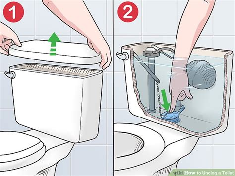 how to unclog bathroom