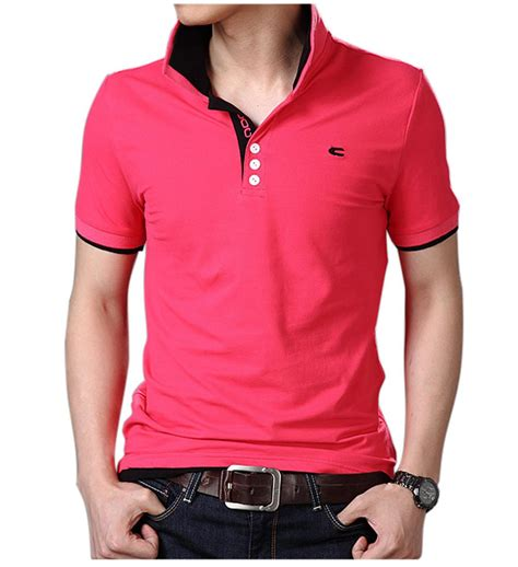 Polo Shirt Big Size Xxxl Xxxxl Kaos Polo Fila free shipping 2015 new wholesale mens cotton multi color t shirt summer tops tees