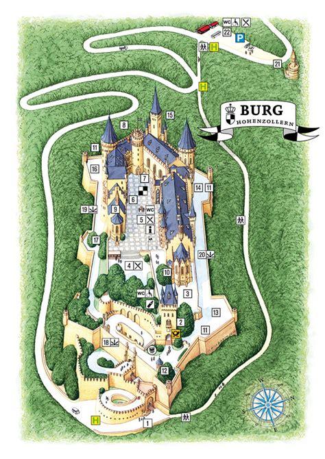 Restaurant Floor Plan Design by Castle Plan Burg Hohenzollern En