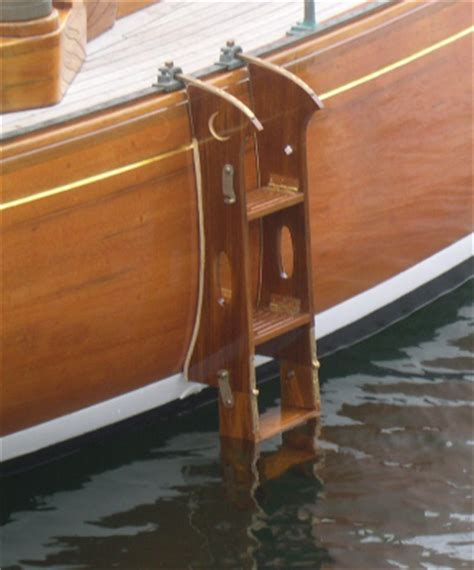 wooden boat ladder hardware garelick swim platforms ladders impressive collection