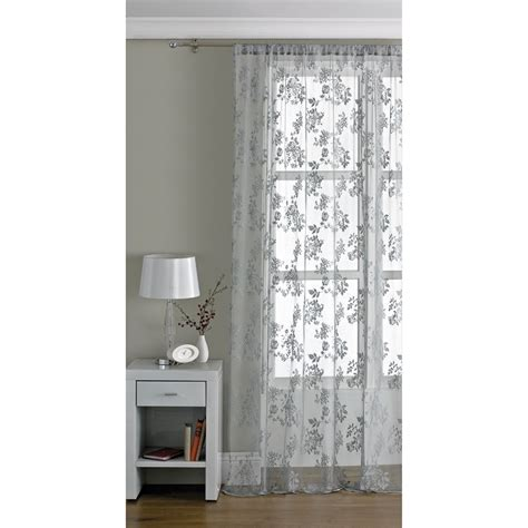 traditional lace voile   cm grey voiles home
