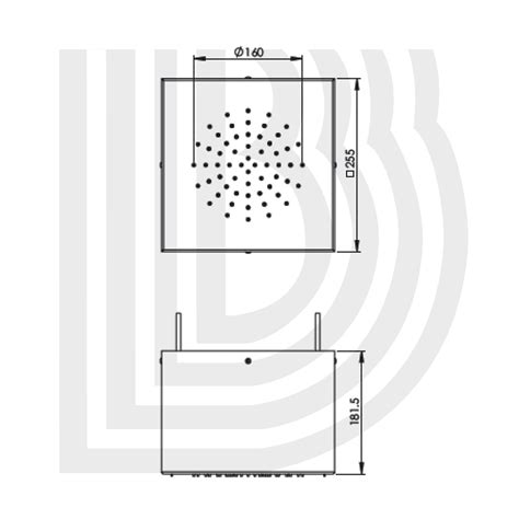 doccia a soffitto cubo doccia a soffitto kube sofmog142000