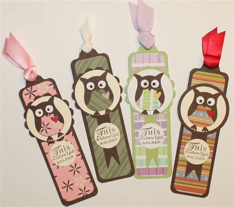 Paper Bookmarks - creative smiles bookmarks