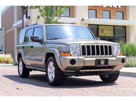 jeep commander for sale 2006 jeep commander for sale classiccars com cc 995094