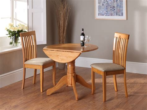 Small Drop Leaf Table And Chairs Small Drop Leaf Kitchen Table And Chair With Beige Wood Finish And Square Fabric