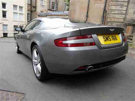 57 Aston Martin Aston Martin 2007 57 Db9 Coupe Sequential Silver Car For Sale