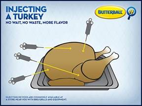 how to inject a turkey butterball 174