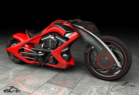 Occ Motorrad by Inside My Design Mind Oc Choppers Jason Pohl On The