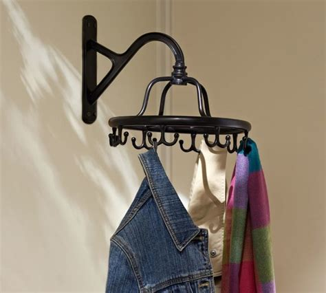 Wall Mounted Garment Rack by Wall Mount Garment Rack Traditional Wall Hooks By
