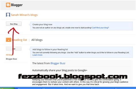 cara membuat blog untuk pemula cara membuat blog baru seperti facebook untuk pemula