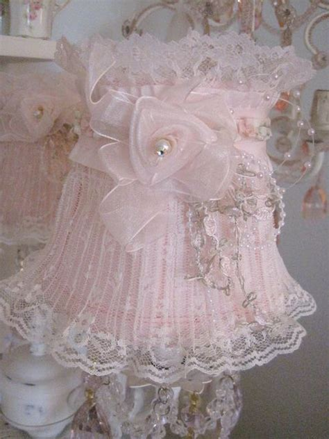lace pearls lshade flickr photo sharing lovely lshades pinterest shabby chic