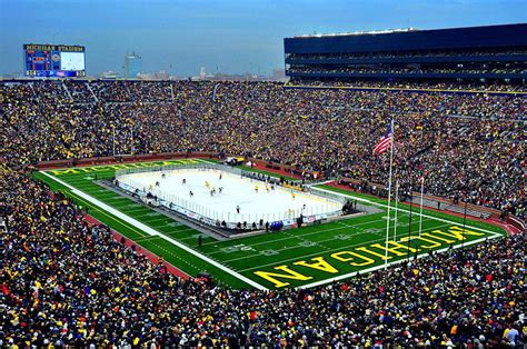 michigan big house all but official nhl s winter classic coming to the big house michigan radio