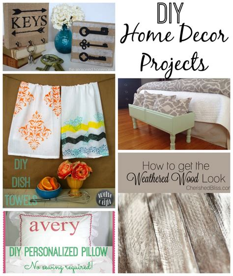 Diy Home Decor Projects Diy Home Decor Creative Connection Features Home Base