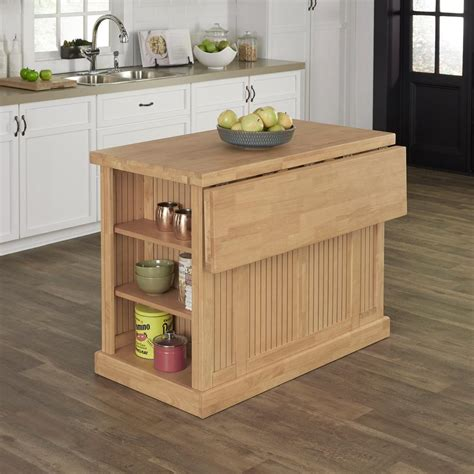 Maple Kitchen Islands Home Styles Nantucket Maple Kitchen Island With Storage 5055 94 The Home Depot