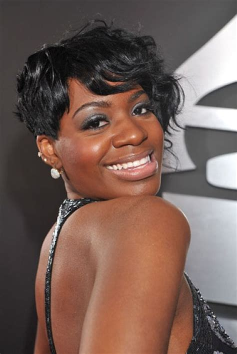 side swept hairstyles for black african american short haircut impish asymmetric chic